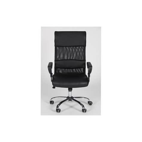 siege cook fauteuil de bureau en tissu noir cook gbe siège