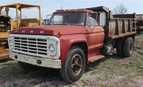 ford  dump truck item ay sold april