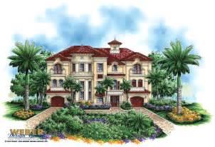 luxury mediterranean house plans luxury mediterranean house plan dal mar house