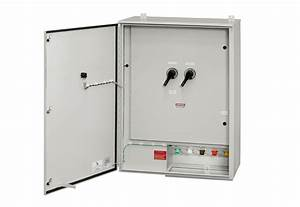 Manual Transfer Switch Breaker Generator Tap Box