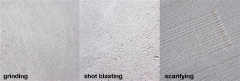 Shot blasting concrete floor ? old method