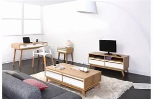 Meuble Tv Scandinave But : meuble tv design scandinave helia meuble tv pas cher miliboo ventes pas ~ Teatrodelosmanantiales.com Idées de Décoration