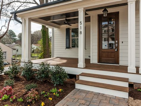 farmhouse style ceiling fans with lights enclosed farmhouse front porch bistrodre porch and