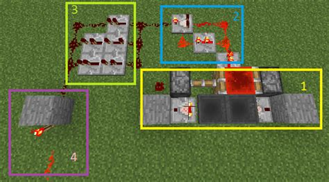 Minecraft Reduce The Size Redstone Circuit Arqade