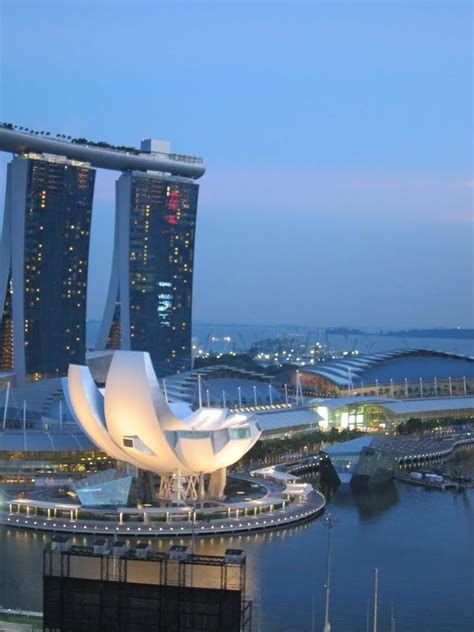 Panoramio Photo Singapore Casino Boat Building From