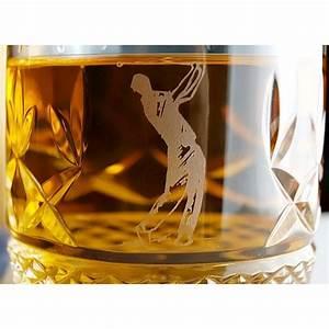 Coffret Whisky Avec Verre : verres whisky avec un motif de golf coffret de deux ~ Teatrodelosmanantiales.com Idées de Décoration