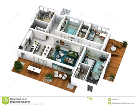 floor plan stock photo image