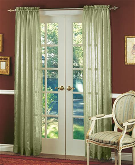 miller curtains sheer aria    panel window