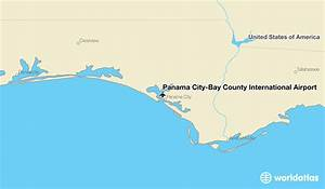 34 Panama City Airport Map