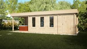 Gartenhaus Mit Schuppen : gartenhaus mit schuppen und veranda super jacob e 18m ~ Michelbontemps.com Haus und Dekorationen