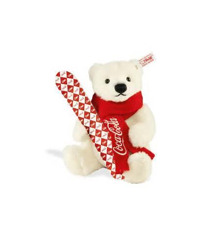 Bear Cola Coca Teddy Bears Snowboard Steiff