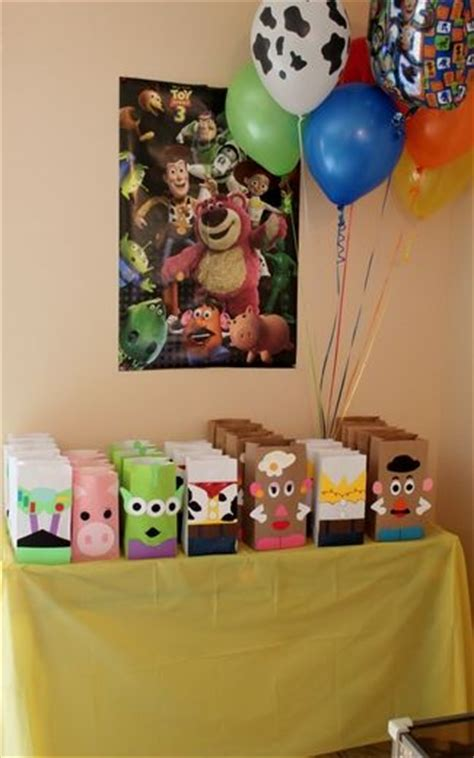 Toy Story Party Bag Template by Toy Story Birthday Party Ideas Toy Story Juguetes Y