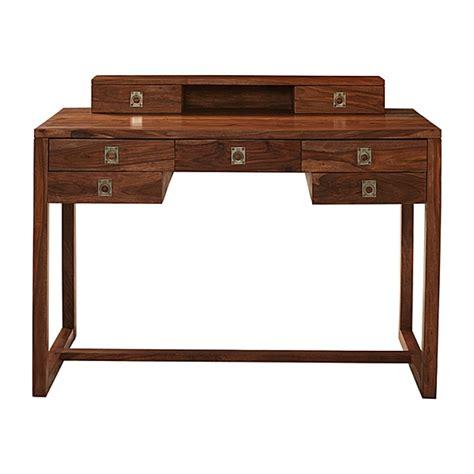 spotlight ebony 58 desk wooden caign desk crate and barrel pdf plans