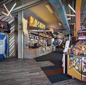 Interior, Design, For, An, Arcade, In, Mission, Beach, California