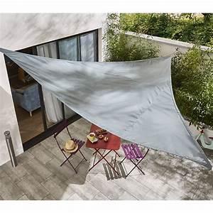 Bache De Protection Castorama : good voile dombrage triangle ardoise cm castorama with ~ Melissatoandfro.com Idées de Décoration