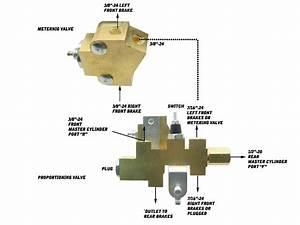 Mopar Disc Brake Proportioning Valve  U0026 Metering Valve For Disc Drum