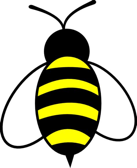 Clipart Bee Bee Clip At Clker Vector Clip