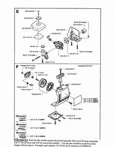 Husqvarna Model 326p5 Attachments  Line Trimmers