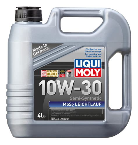 Liqui Moly Semi Synthetic Mos2 Leic (end 12/26/2017 5