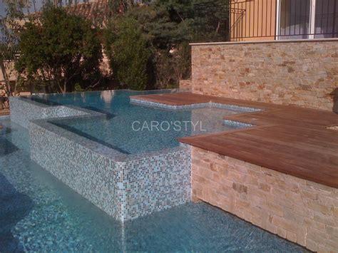 pate de verre piscine piscine en mosaique p 226 te de verre bleue carrelage et salle de bain la seyne var caro styl