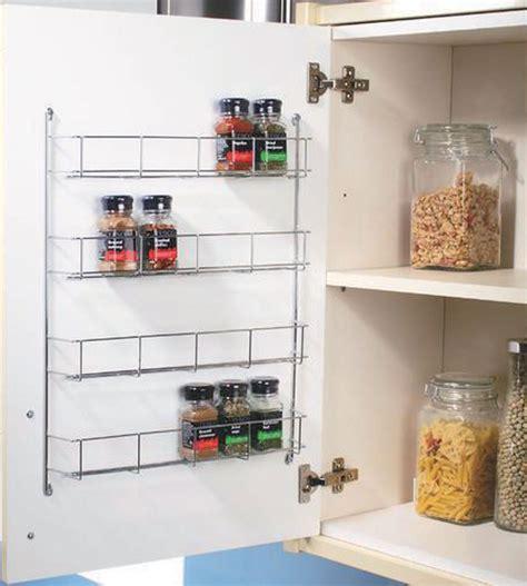 tier chrome   door spice rack packet jar spice holder kitchen storage ebay kitchen