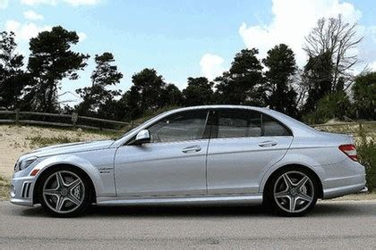 Power recline, height adjustment, cushion extension, fore/aft movement and cushion tilt. 2008 Mercedes-Benz C63 AMG by Renntech - Free high resolution car images