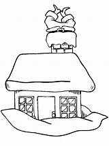 Coloring Claus Pages Santa Roof Christmas Chimney Down Mrs Clip Drawing Cliparts Drawings Coming Father Sleigh Going Getdrawings Library Clipart sketch template