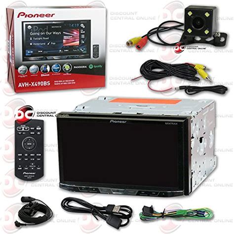 Pioneer Touch Screen Wiring Diagram by New Pioneer Avh X490bs 7 2din Touchscreen Car Dvd Cd