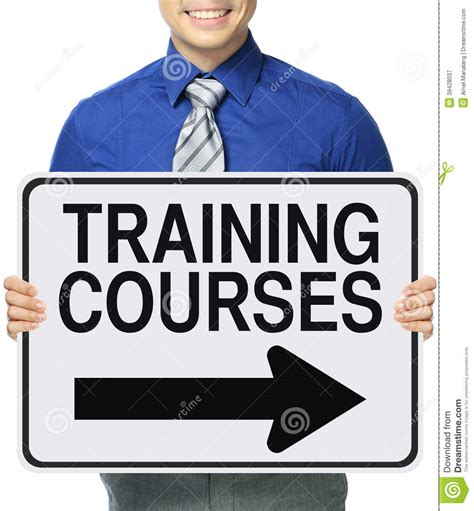 training courses stock photo image