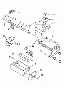 Dispenser Parts Diagram  U0026 Parts List For Model 11045088401
