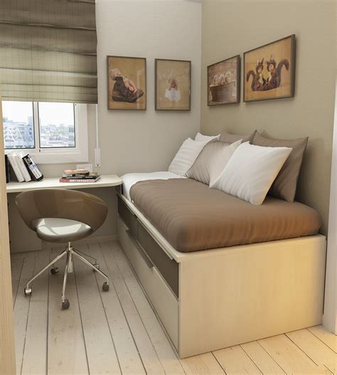 small floorspace rooms