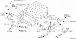 Infiniti I35 Engine Coolant Temperature Sensor
