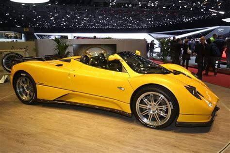 Pagani Huayra Roadster Finally Unveiled At Geneva Motor