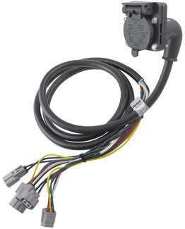 Toyotum Tundra Trailer Wiring Harnes by Tow Ready 90 Degree Fifth Wheel Adapter Wiring Harness