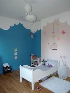davausnet chambre bleu pour bebe fille avec des idees With chambre bleu pour fille