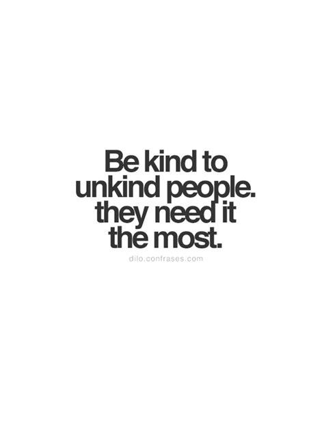 kind  unkind people