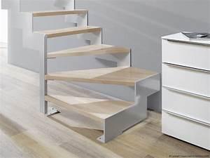 Raumspartreppe 1 2 Gewendelt : lasergeschnittene treppe 1 4 gewendelt als moderne wangentreppe lasergeschnittene treppe ~ Frokenaadalensverden.com Haus und Dekorationen