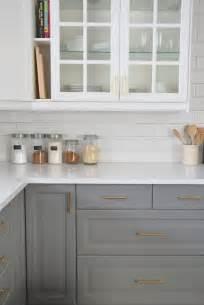 kitchen cabinet backsplash installing a subway tile backsplash in our kitchen the sweetest digs