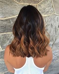 Ombré Hair Chatain : meches caramel sur cheveux chatain fonc meilleur de ~ Dallasstarsshop.com Idées de Décoration