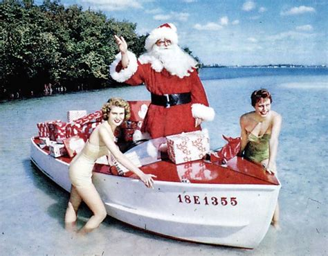 santa christmas florida claus models boat happy merry sarasota south greece state archives 1965 flickr joseph steinmetz fishing boating project