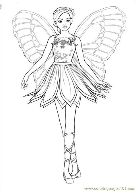 barbie ballerina printable coloring pages  icolor