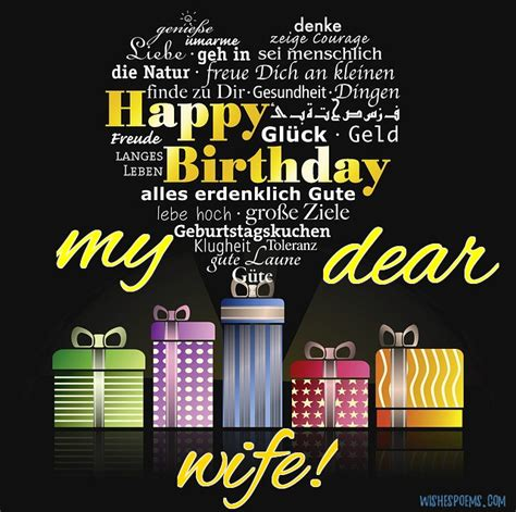 romantic birthday wishes  wife wishes poems
