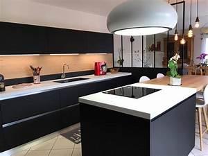 hotte aspirante cuisine centrale cuisine idees de With hotte de cuisine centrale