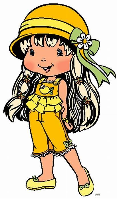 Clipart Strawberry Shortcake Clip Lemon Cartoon Meringue