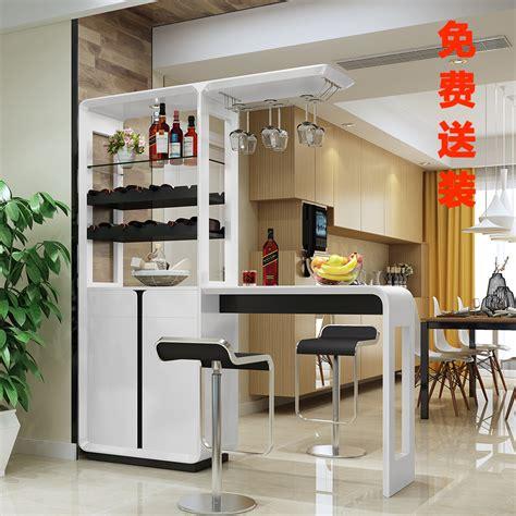 small bar table home wine cabinet modern minimalist bar