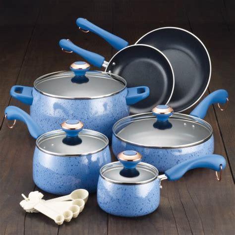 paula deen kitchen accessories paula deen blueberry speckle chicken fryer 12 inch 4109