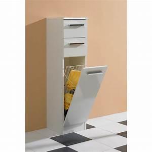 meuble salle de bain avec panier linge galerie et meuble With meuble salle de bain avec bac a linge