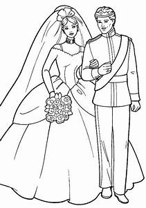 Barbie And Ken Coloring Pages - GetColoringPages.com