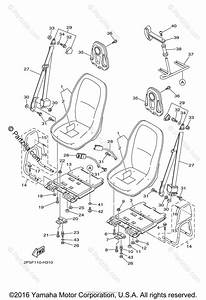 Yamaha Side By Side 2009 Oem Parts Diagram For Seat