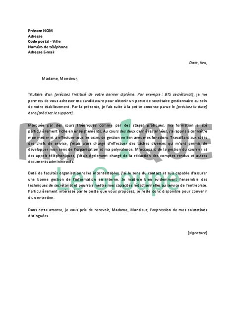 pin lettre motivation secretaire administrative on